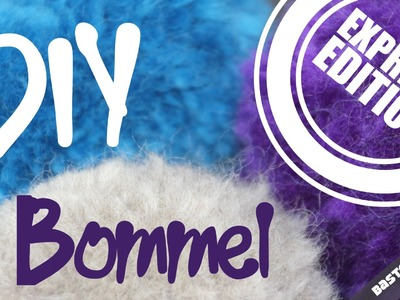 BOMMEL Anleitung | DIY Pompon | Bobble Crafts | Express Edition