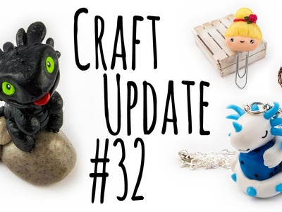Craft Update #32 | Fimo Inspirationen | Polymer Clay
