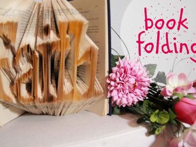 DIY | Book Folding |  Bücher Falten