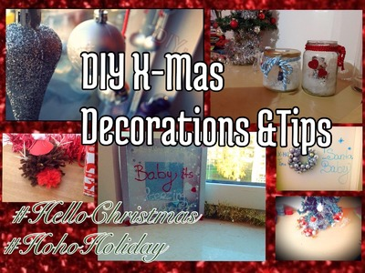 DIY Christmas Decorations & Tips ❄ ⛄