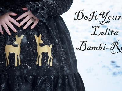 DIY - Lolita Bambi Rock