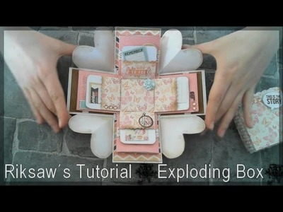DIY [Tutorial #1] Exploding Box