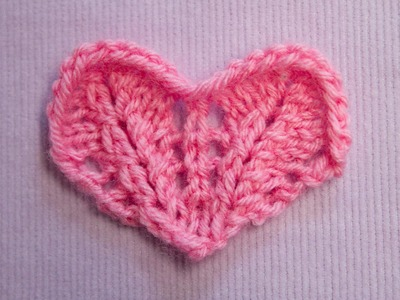 Ein kleines Herz stricken - Knitting a small Heart - Strickmuster Knitting pattern
