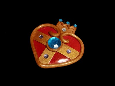 FIMO Amulett: Polymer Princess Amulet - Tutorial [HD.DE] (EN-Sub)