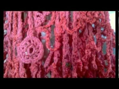 Freeform Häkeln - Crochet - Dress - HaekelnundStricken