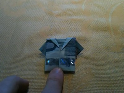 Geldjacke falten. Geldschein zu Hemd falten - Origami