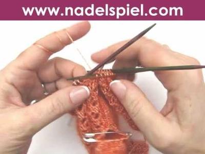 Handschuhe stricken * Teil 9 * Mittelfinger stricken
