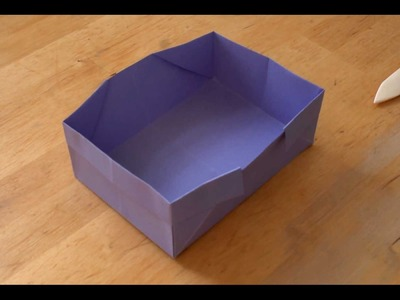 How To Make an Origami Box - Falte Dir eine Origami-Schachtel!