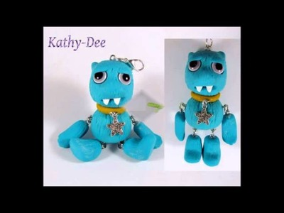 KathyDee Polymer Clay Art Film1