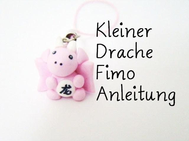 Kleiner Drache Fimo Anleitung. Dragon polymer clay Tutoriall   Anielas Fimo