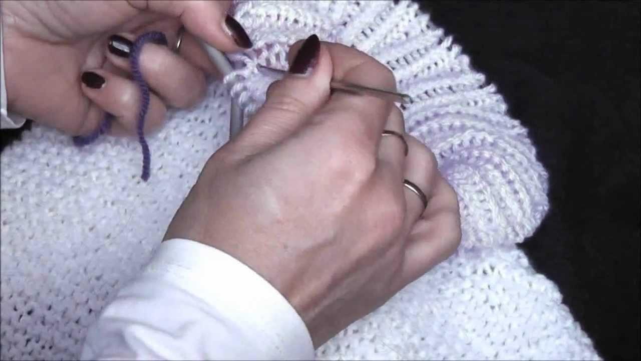 Knitting Rollkragen stricken, robotki na drutach - golf