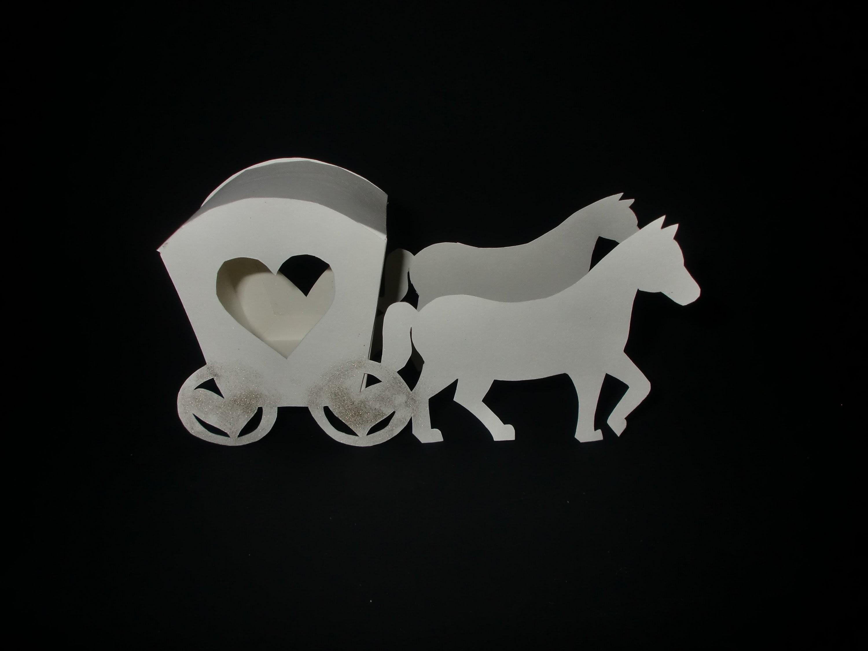 Kutsche aus Papier: Carriage Paper-ART - Tutorial [HD.deutsch]