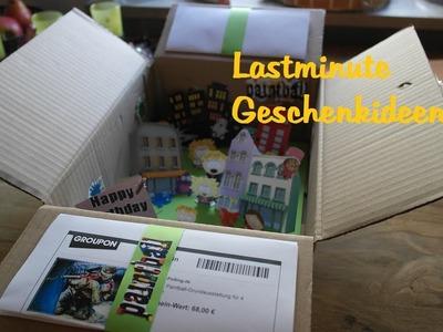 Lastminute gift ideas! Lastminute Geschenkideen - Gutscheine mal anders verpackt!