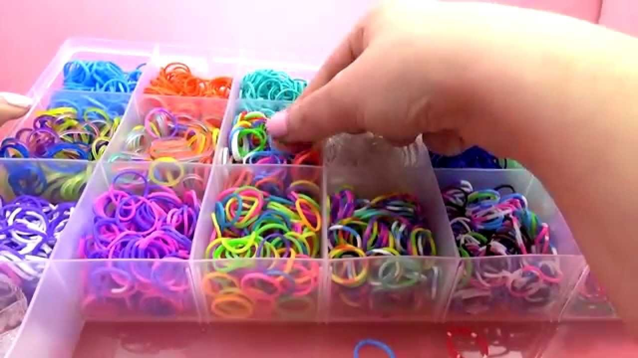 Loom Band Box | Band Accessory Case  | Loom Band Koffer | Unboxing
