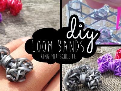 Loom Bands Tutorial: Ring mit Schleife (Bow Ring) DIY Schritt für Schritt