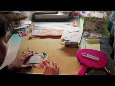 Minikalender Tutorial Scrapbooking