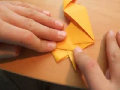 Origami mit Christian: Ente. Duck