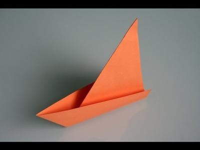 Origami Segelboot sail boat