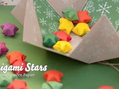 Origami Stars - Streusterne - Weihnachtsstern in 3D