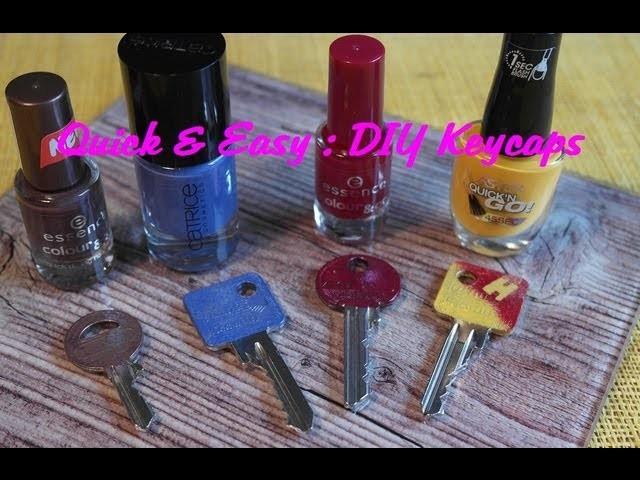 Quick & Easy DIY Keycaps. Schlüsselkappen Tutorial