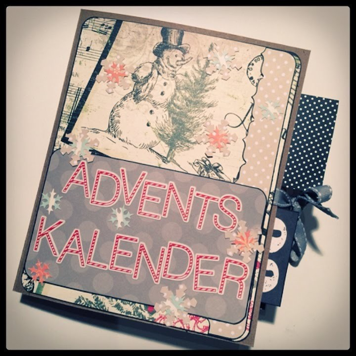 "Scrapbook -""Adventskalender mal anders""---DIY---Tutorial [deutsch]"