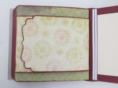Scrapbook Album selber machen #8 * Gestaltung der 10. Seite