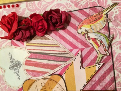 Scrapbook Birthday Card [tutorial] Rubbellos-Geschenk