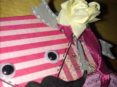 Scrapbook Mini-Geschenkbox **Mr Mustache**DIY [Tutorial]