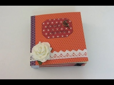 [Scrapbook Tutorial] Mini-Album mit Briefumschlägen | DEUTSCH