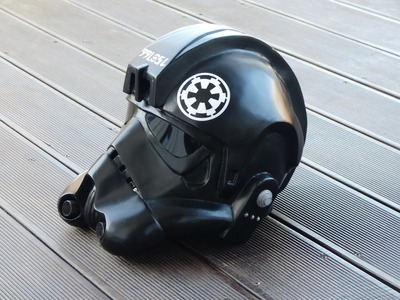 Star Wars, making Tie-Fighter Helmet, Papercraft. Pepakura selber bauen, 66target