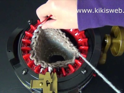 Stricken: Strickmaschine abketten