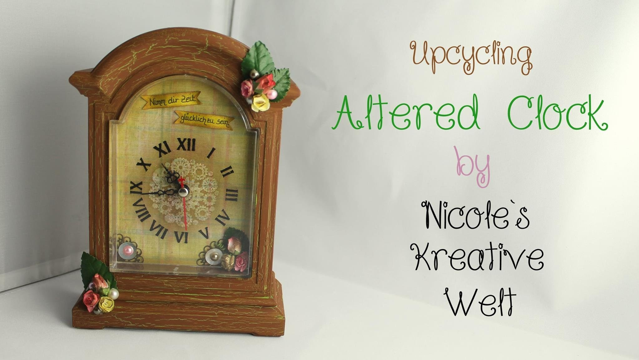 [Tutorial #5.DIY.KoOp Craft] Altered Clock