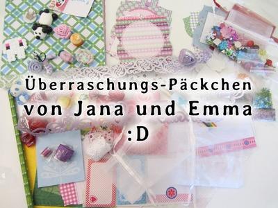 [VLOG] ♥ Überraschungs-Päckchen von Jana und Emma ♥