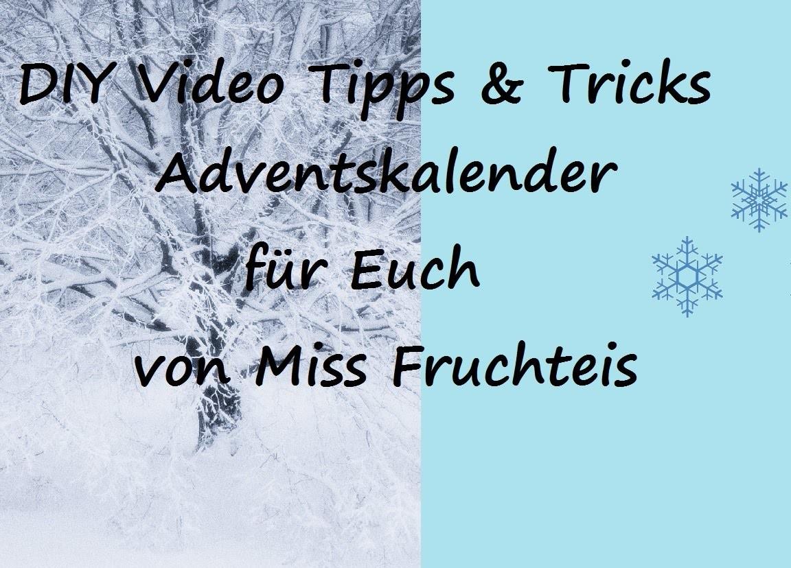 23. Türchen meines Video Tipps und Tricks DIY Adventskalender. Origami Umschlag