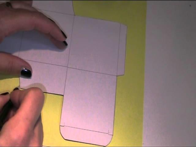 Anleitung - Würfel aus Papier basteln & falten 1