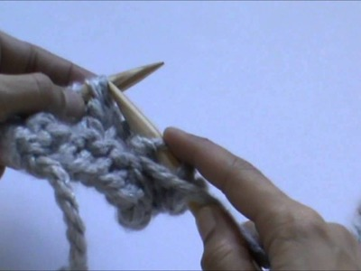 Crealoo Big Knit Video tutorial Punto del reves   Linke Masche stricken