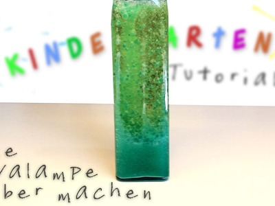 DIY Lavalampen Experiment für Zuhause | Tutorial | deutsch
