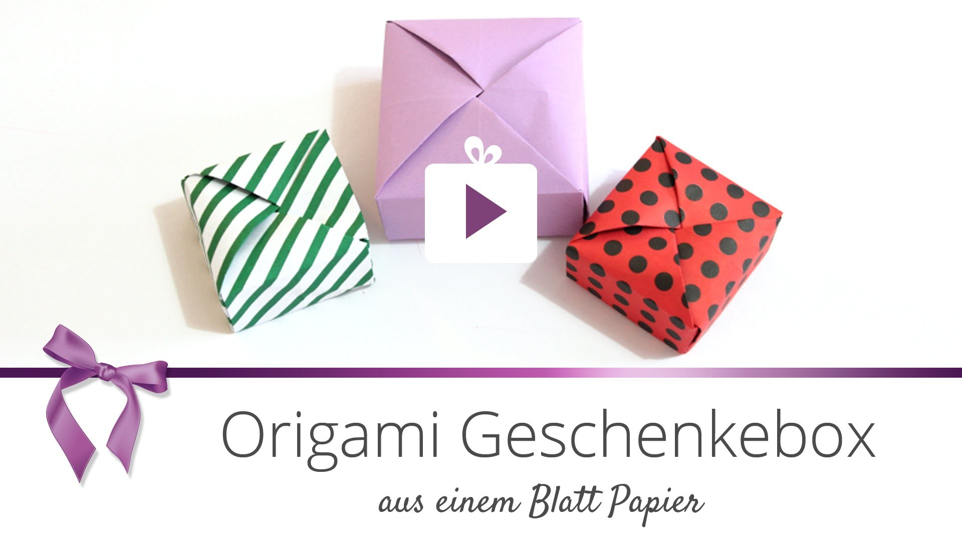 diy origami geschenkebox danato. Black Bedroom Furniture Sets. Home Design Ideas