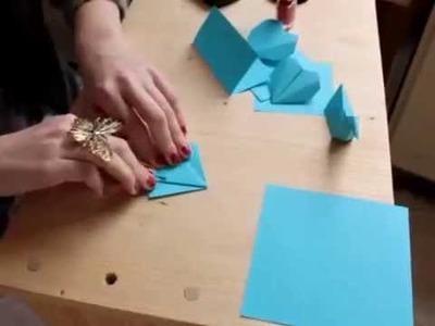DIY Origami Herz