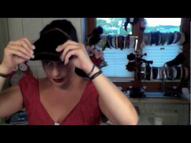 Hair-Tutorial für Faux Bangs, Rockabilly