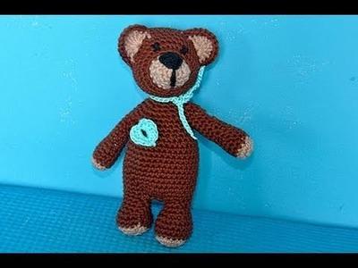 """Häkeln * Super Easy Teddybär """"eliZZZa"""" * Teil 1 * Amigurumi"""