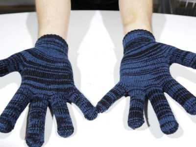 Iriedaily Handschuhe - Gritty Knit Gloves night sky - Men