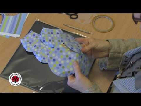 Karen Marie Box Making System Basteln mit der Fünfeckschablone