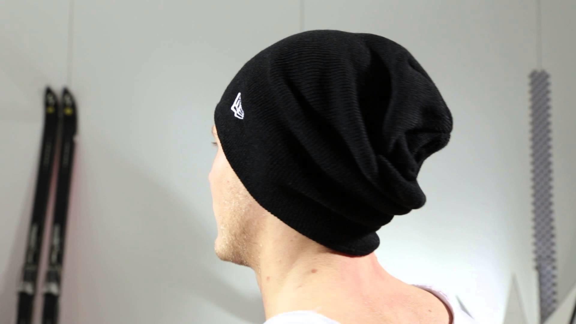 New Era Mützen - NE Original Basic Long Knit black - Men