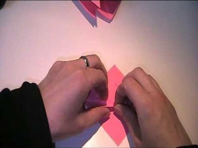Origami Anleitung - Goldfisch falten (Kingyo)