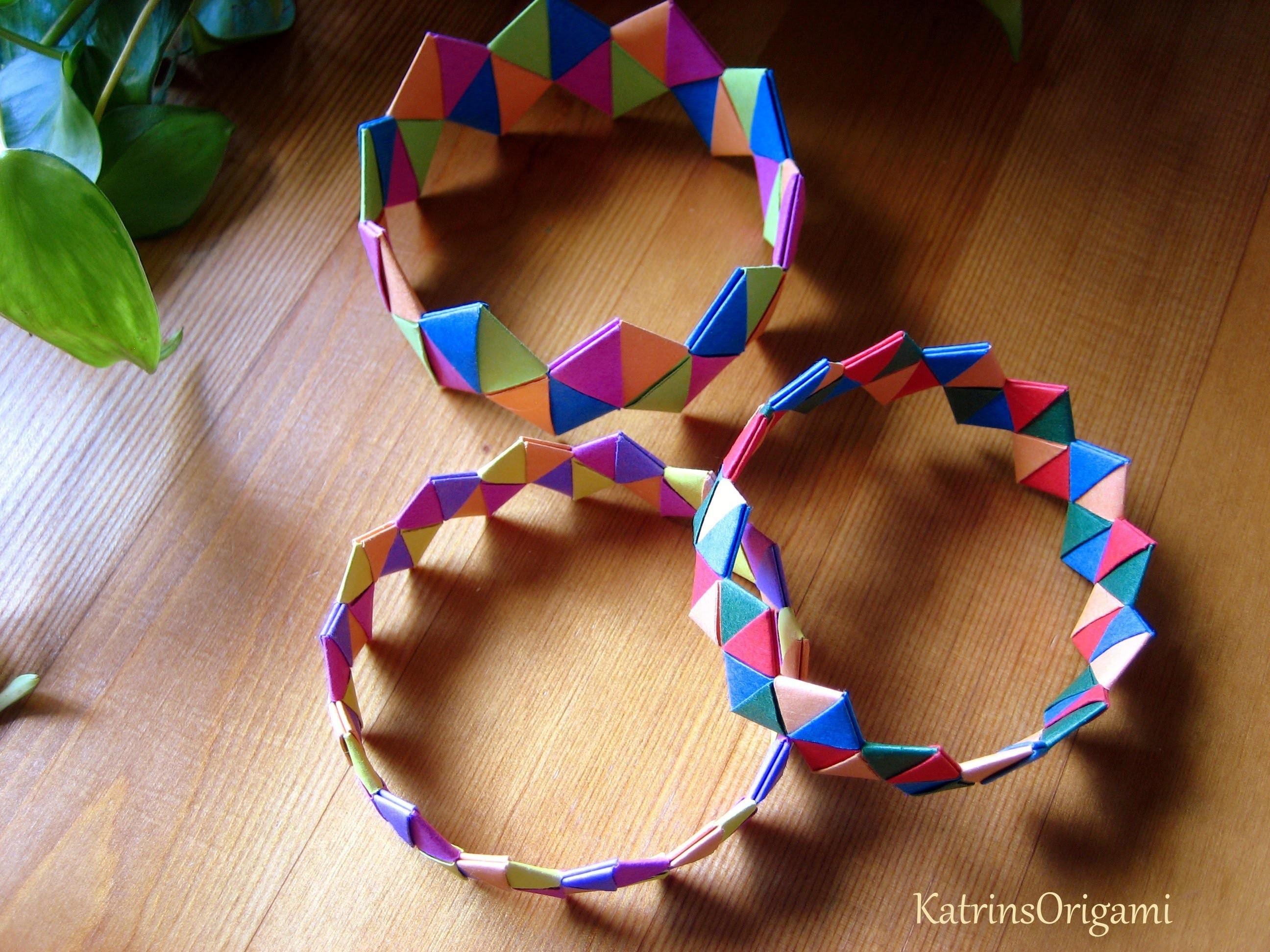 Origami ♥ Bracelet ♥ Armband