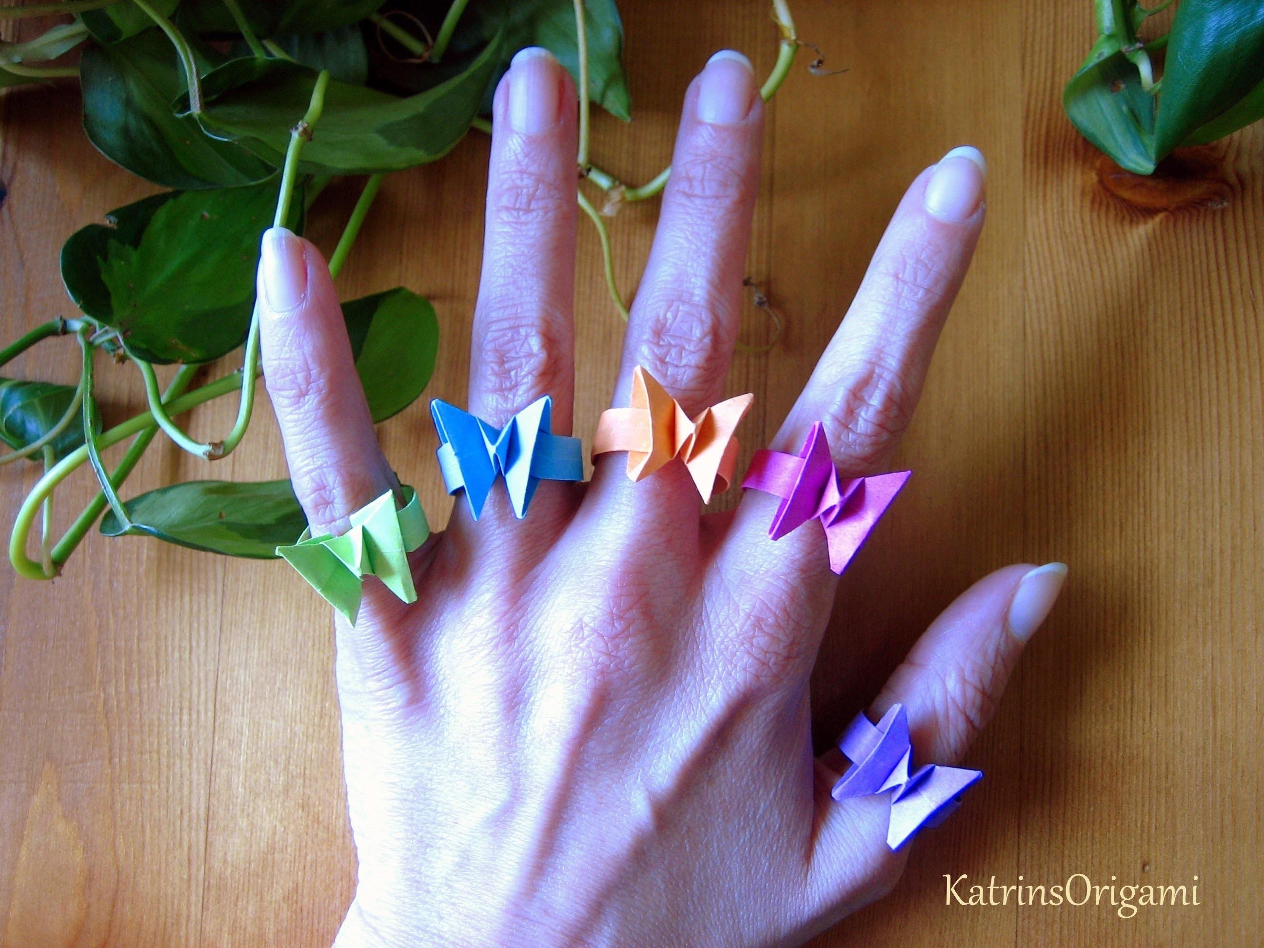 Origami ƸӜƷ Butterfly Ring ƸӜƷ