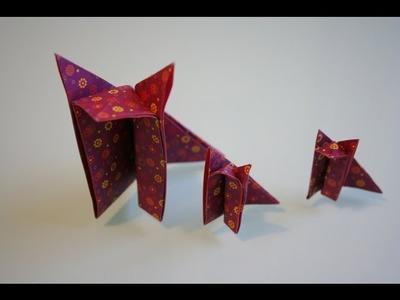 Origami Fuchs fox