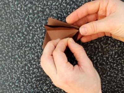 Origami Hirschkopf