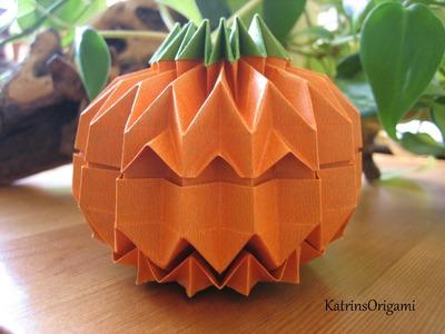 Origami Jack O´ Lantern Teil 2